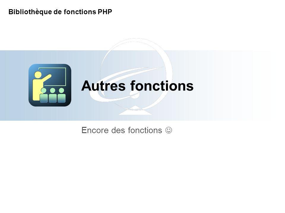 [Title of the course] Encore des fonctions 